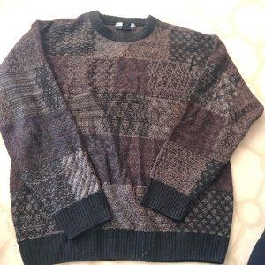 Geoffrey Beene vintage VTG heavy knit sweater